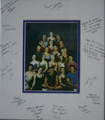 To Dr. Rofrano with much love! Ballet Florida Dancers