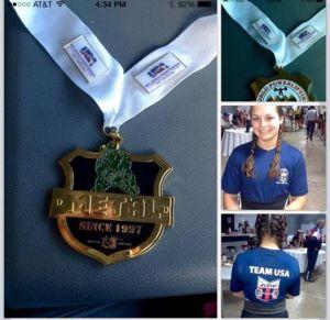 Kayla Ellers world champion powerlifter,11-14